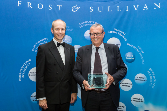 Transcom honored at Frost & Sullivan's Best Practices Awards in London 2015_4